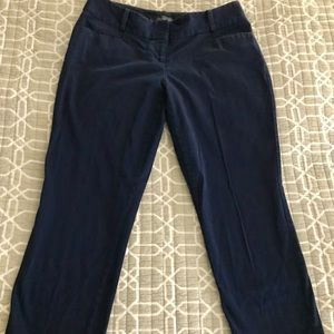 The Limited navy pencil pant size 8